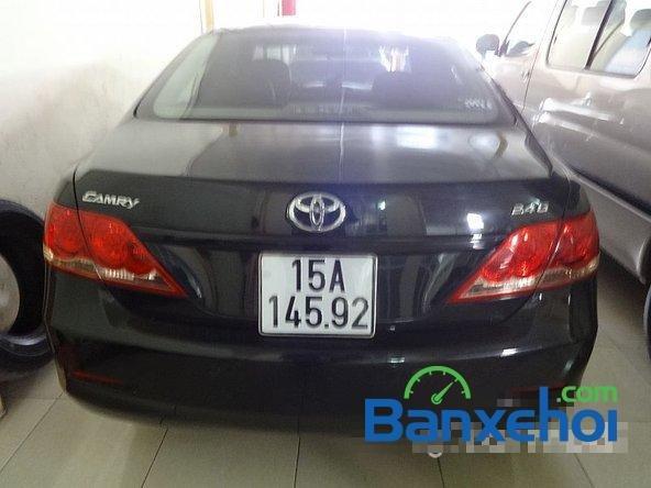 Xe Toyota Camry 2.4G 2008 cũ màu đen đang được bán với giá 820000000 vnd-3