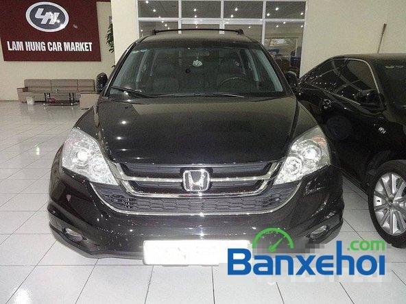 Bán ô tô Honda CR V sản xuất 2010, màu đen, 900 triệu-1