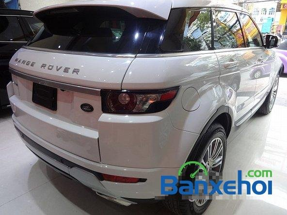 Bán ô tô LandRover Range Rover Evoque sản xuất 2012, màu trắng nhanh tay liên hệ-3