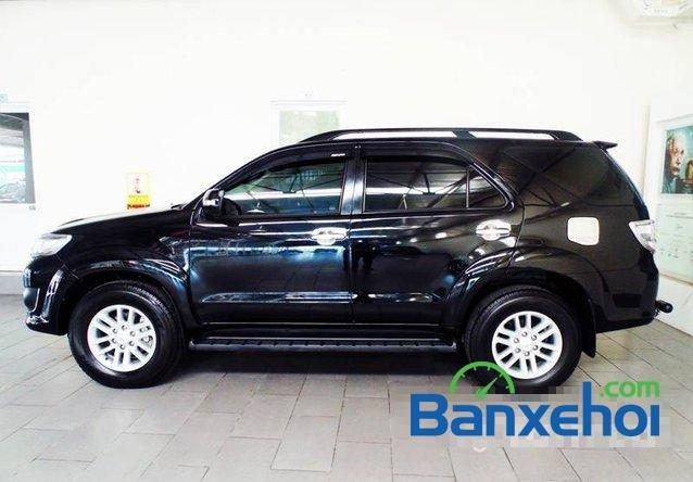 Toyota Used Cars Đông Sài Gòn bán xe Toyota Fortuner V đời 2013, màu đen đã đi 29420 km-0
