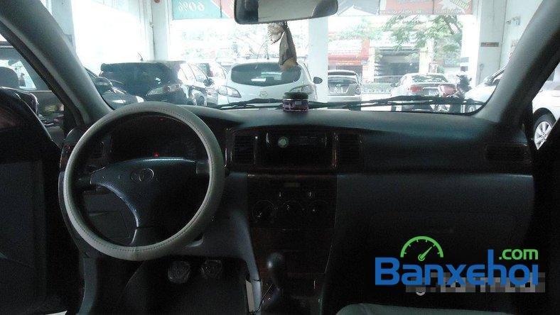 Xe Toyota Corolla J 2003 cũ màu đen đang được bán với giá 285000000 vnd-5