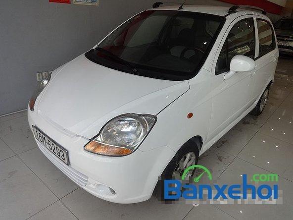 Cần bán Daewoo Matiz đời 2005, màu trắng-1