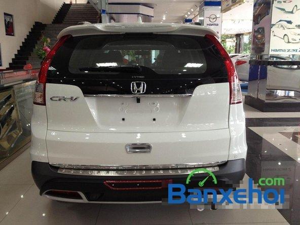 Cần bán Honda CR V đời 2014, màu trắng, giá 1 tỷ 150tr-3