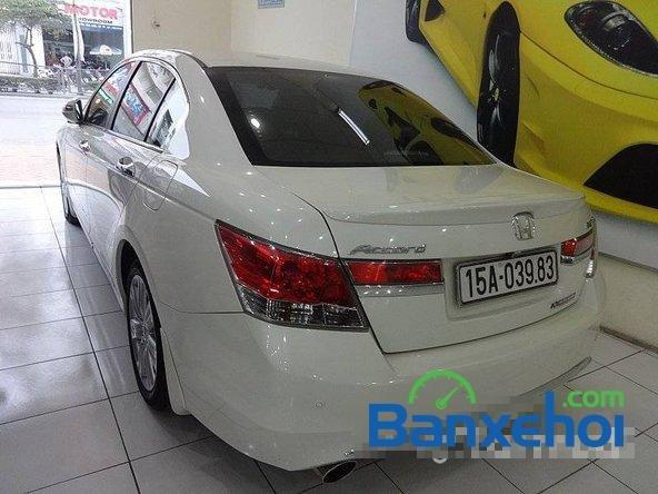Cần bán xe Honda Accord đời 2011, màu trắng, LH chợ ô tô Lâm Hùng-2