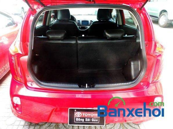 Xe Kia Picanto2013 cũ màu đỏ đang được bán với giá 385000000 vnd-4