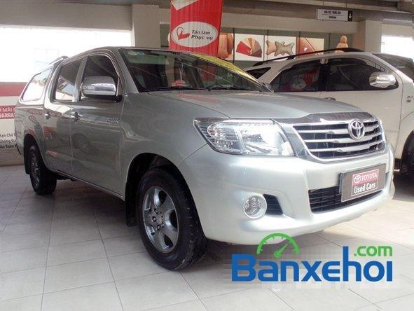 Cần bán xe Toyota Hilux 2.5E 2012 đã đi 81800 km-0