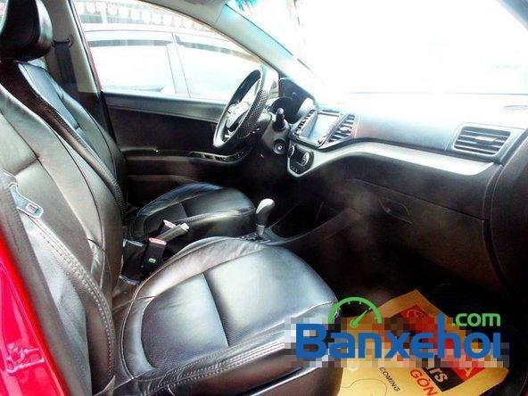Xe Kia Picanto2013 cũ màu đỏ đang được bán với giá 385000000 vnd-2