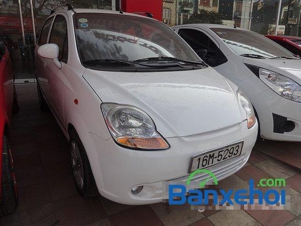 Salon Auto Quốc Toản cần bán Daewoo Matiz Van đời 2005, màu trắng, xe đẹp-1