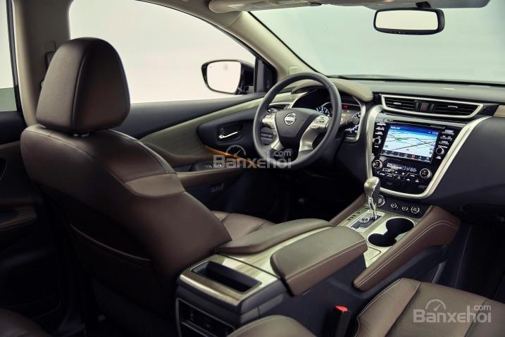 Nội thất hiện đại của Nissan Murano 2015.