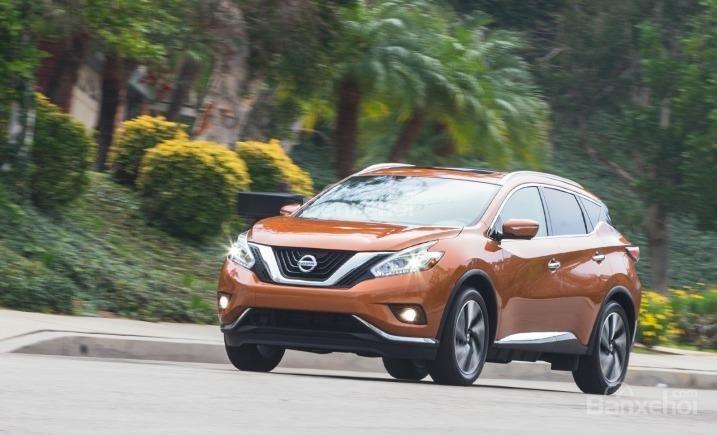 Nissan Murano 2015 được ví như một tác phẩm điêu khắc tinh xảo.