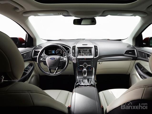 Nội thất của Nissan Murano 2015.