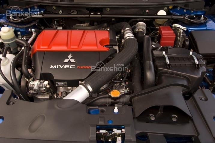 Đánh giá động cơ xe Mitsubishi Lancer Evolution 2015