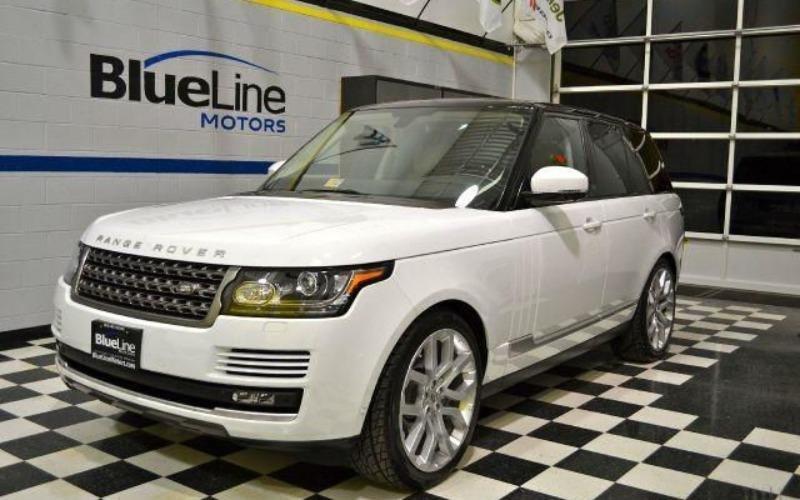 Cần bán lại xe LandRover Range rover đời 2014, màu trắng, nhập khẩu-8