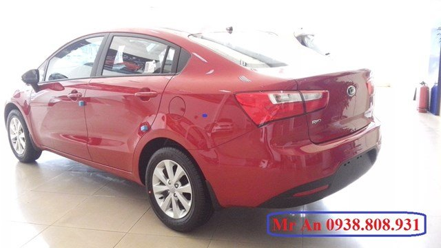 Bán ô tô Kia Rio đời 2015, màu đỏ-4