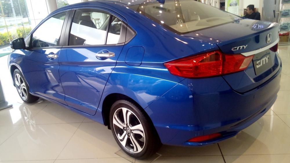 Cần bán Honda City sản xuất 2015, xe màu xanh lam-8