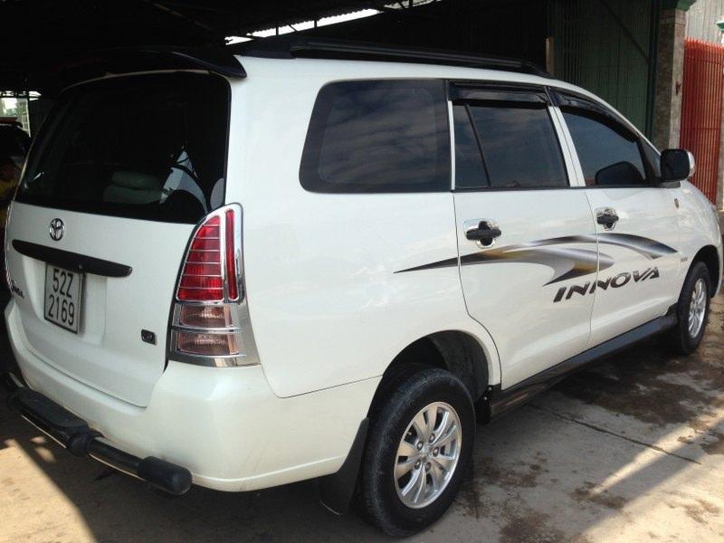 Bán ô tô Toyota Innova 2006, màu trắng -7