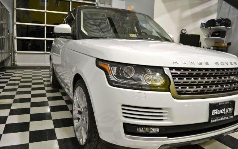 Cần bán lại xe LandRover Range rover đời 2014, màu trắng, nhập khẩu-2