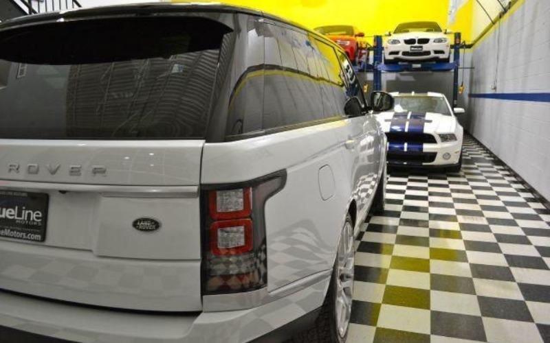 Cần bán lại xe LandRover Range rover đời 2014, màu trắng, nhập khẩu-4