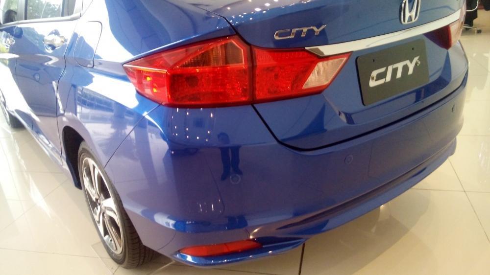 Cần bán Honda City sản xuất 2015, xe màu xanh lam-7