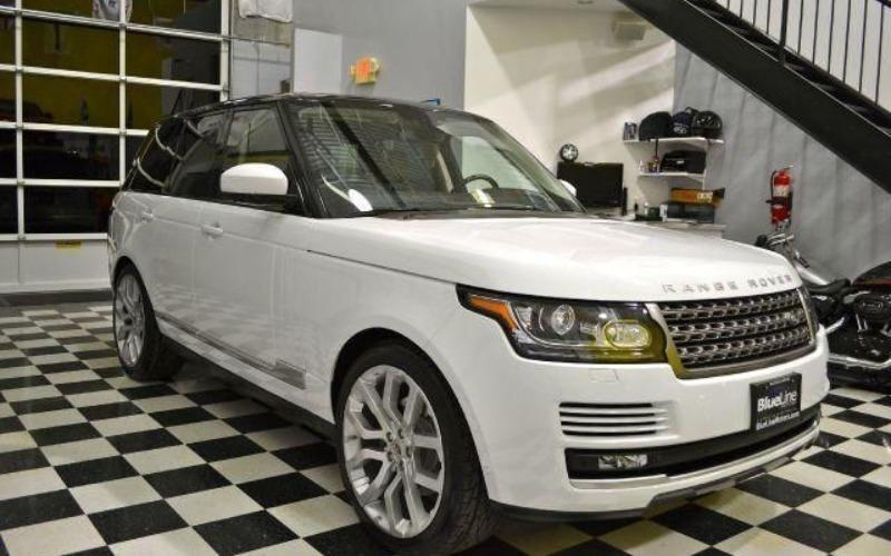 Cần bán lại xe LandRover Range rover đời 2014, màu trắng, nhập khẩu-0