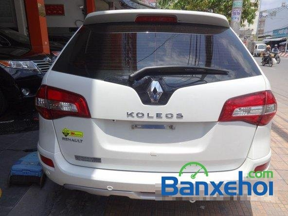 Salon Siu Hùng cần bán Renault Koleos đời 2014, màu trắng-4