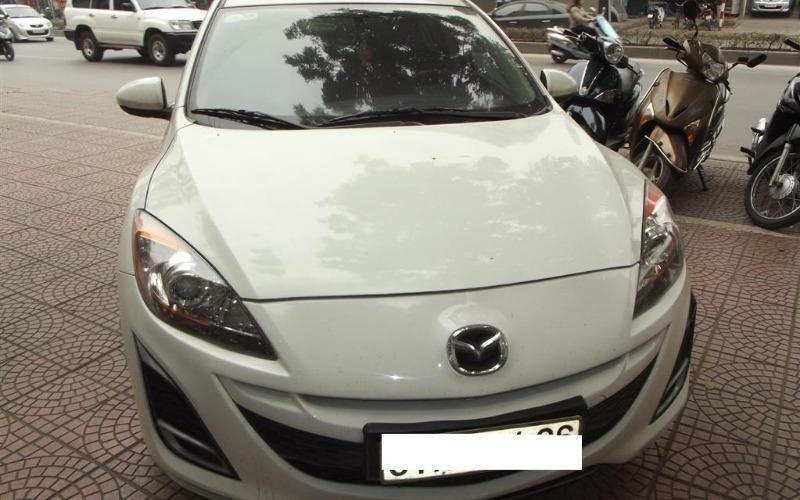 Nam Chung Auto cần bán Mazda 2 năm 2010, màu trắng, nhập khẩu-0