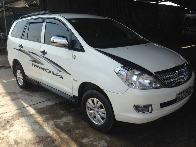 Bán ô tô Toyota Innova 2006, màu trắng -1