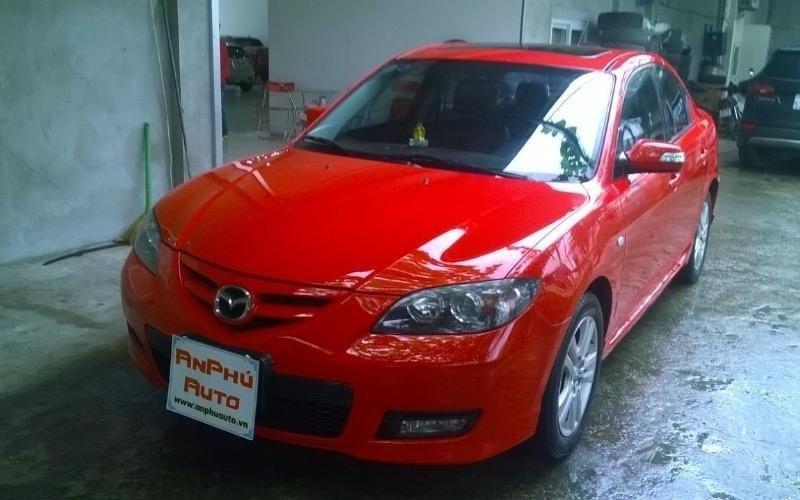 Cần bán lại xe Mazda 2 đời 2009, màu đỏ, nhập khẩu-0