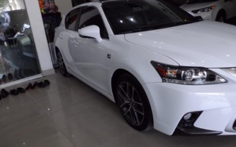 Cần bán xe Lexus CT đời 2014, màu trắng, xe nhập-1