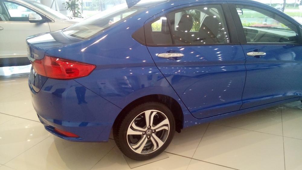 Cần bán Honda City sản xuất 2015, xe màu xanh lam-5