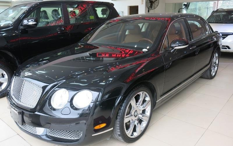 Cần bán Bentley Continental đời 2014, màu đen, nhập khẩu-0