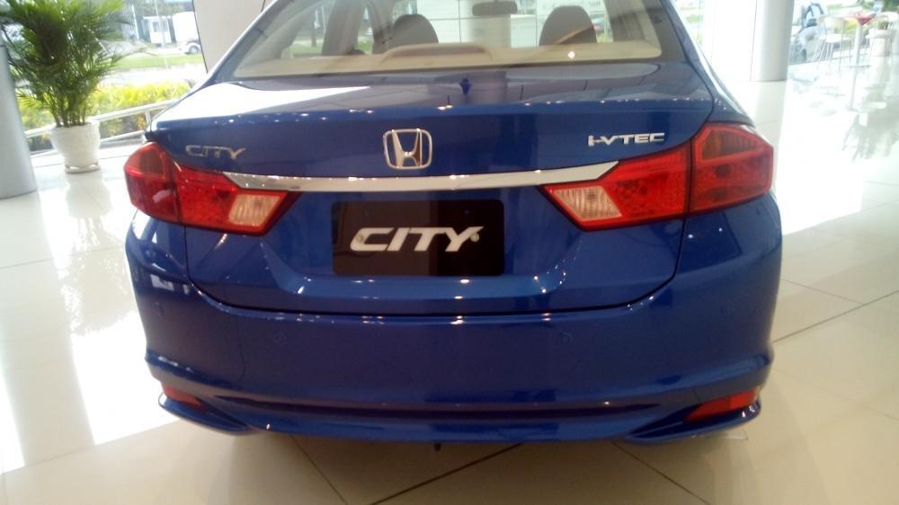 Cần bán Honda City sản xuất 2015, xe màu xanh lam-6