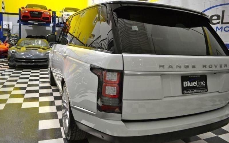 Cần bán lại xe LandRover Range rover đời 2014, màu trắng, nhập khẩu-3