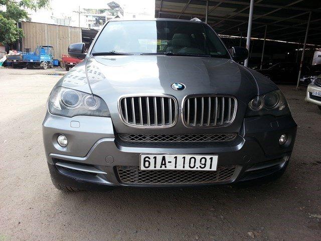 Bán xe BMW X5 đời 2008, màu xám, xe nhập-0