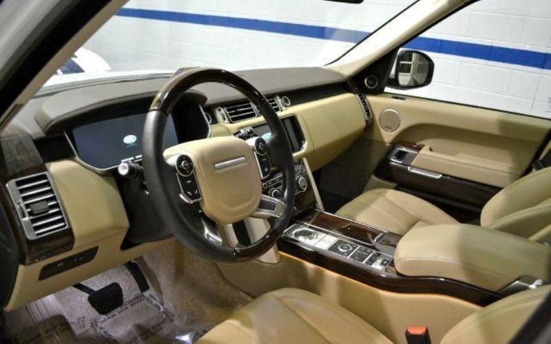Cần bán lại xe LandRover Range rover đời 2014, màu trắng, nhập khẩu-7