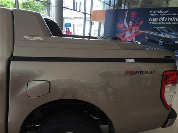 Cần bán xe Ford Ranger đời 2015, màu bạc, nhập khẩu, giá 632tr-5