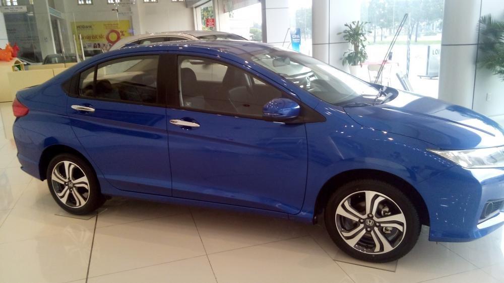 Cần bán Honda City sản xuất 2015, xe màu xanh lam-4