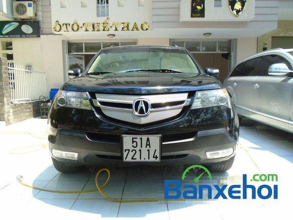 Salon Auto 173 cần bán xe Acura MDX SH-AWD đời 2007, màu đen-1