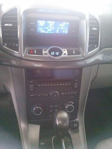Xe Chevrolet Captiva đời 2012, màu đen, số tự động -4