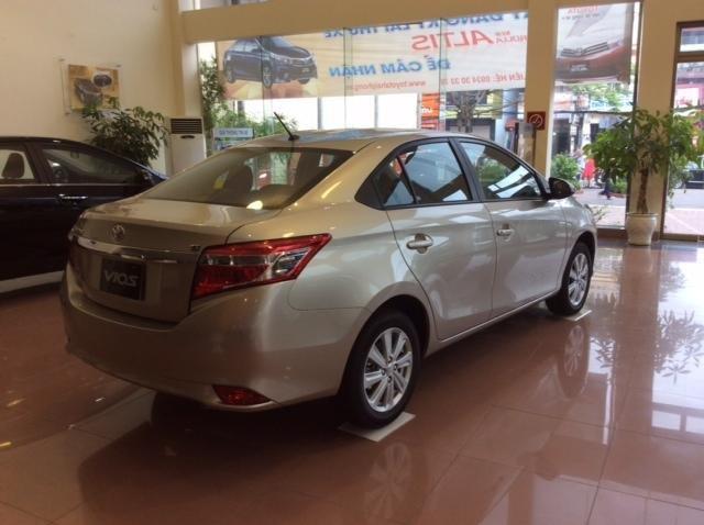 Bán Toyota Vios đời 2015, 624tr, xe đẹp chất lượng-3