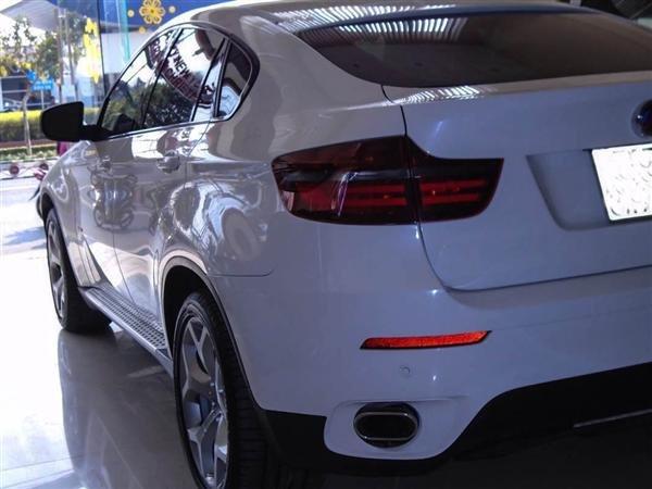 Bán BMW X6 cũ màu trắng, nhập khẩu nguyên chiếc-1