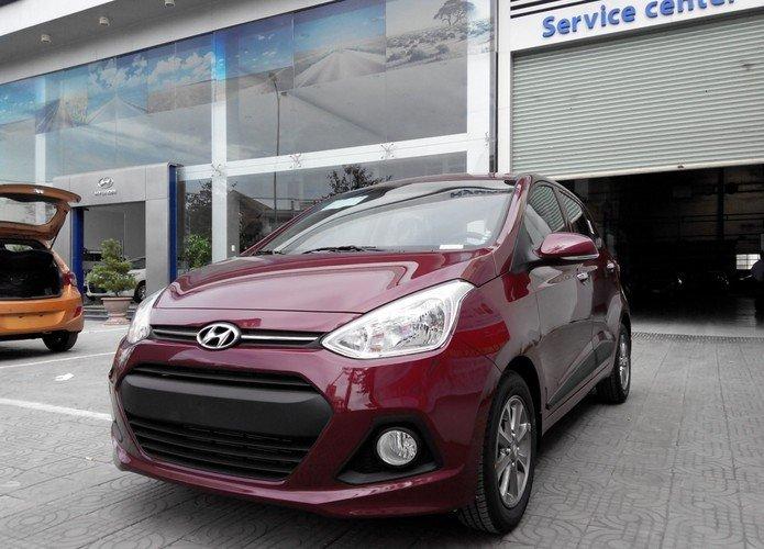 Cần bán xe Hyundai i10 đời 2015, màu đỏ, nhập khẩu chính hãng-5