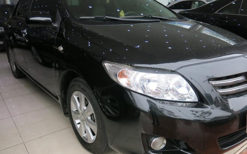 Toyota Corolla đời 2009, màu đen, nhập khẩu nguyên chiếc-1