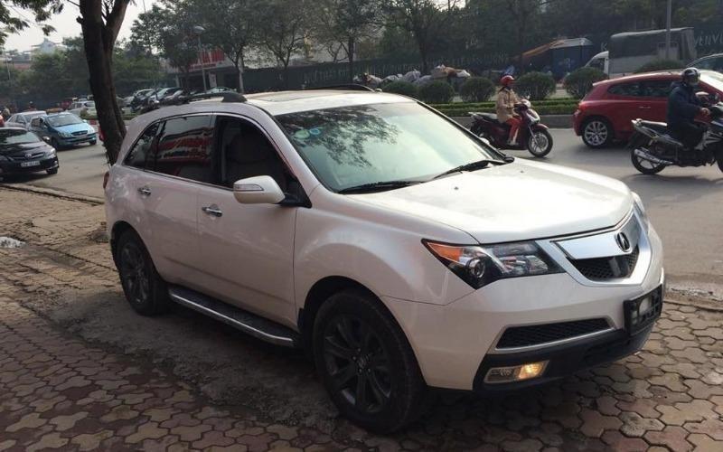 Việt Nhật Auto bán ô tô Acura MDX đời 2010, màu trắng, nhập khẩu, số tự động-0