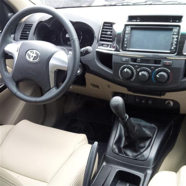 Bán xe Toyota Fortuner đời 2015, màu đen, giá 892tr-4