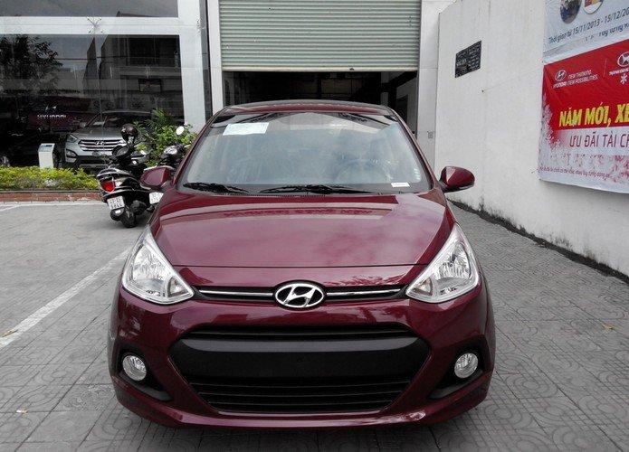 Cần bán xe Hyundai i10 đời 2015, màu đỏ, nhập khẩu chính hãng-1