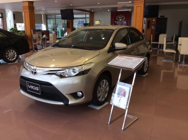 Bán Toyota Vios đời 2015, 624tr, xe đẹp chất lượng-1