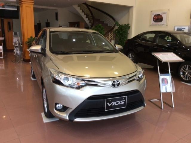 Bán Toyota Vios đời 2015, 624tr, xe đẹp chất lượng-0