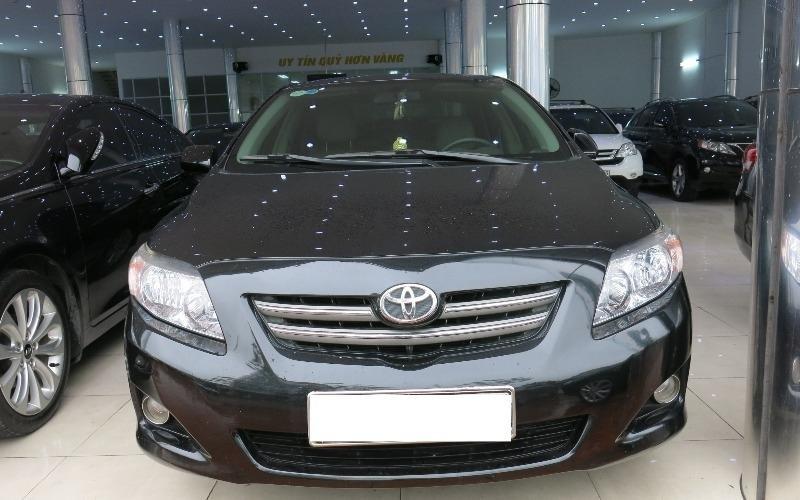 Toyota Corolla đời 2009, màu đen, nhập khẩu nguyên chiếc-0
