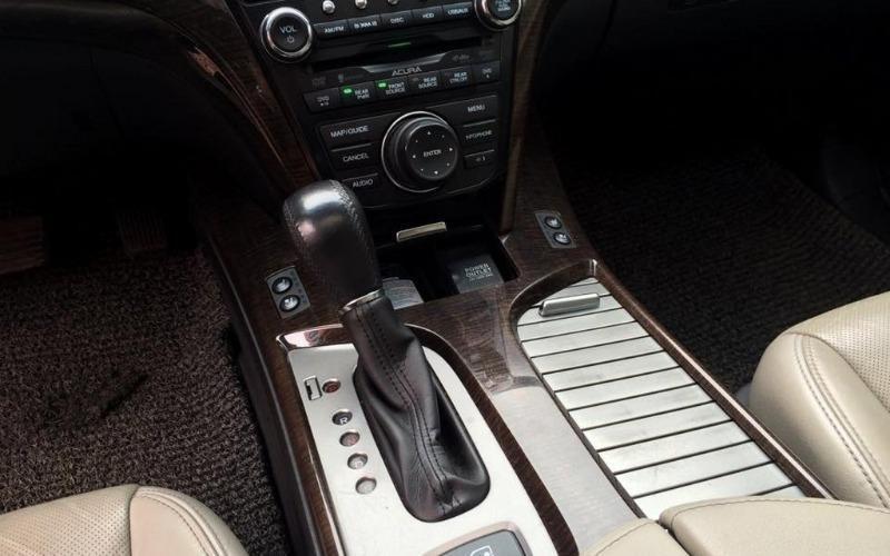Việt Nhật Auto bán ô tô Acura MDX đời 2010, màu trắng, nhập khẩu, số tự động-4